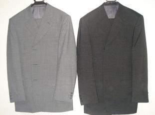 新しいスーツ